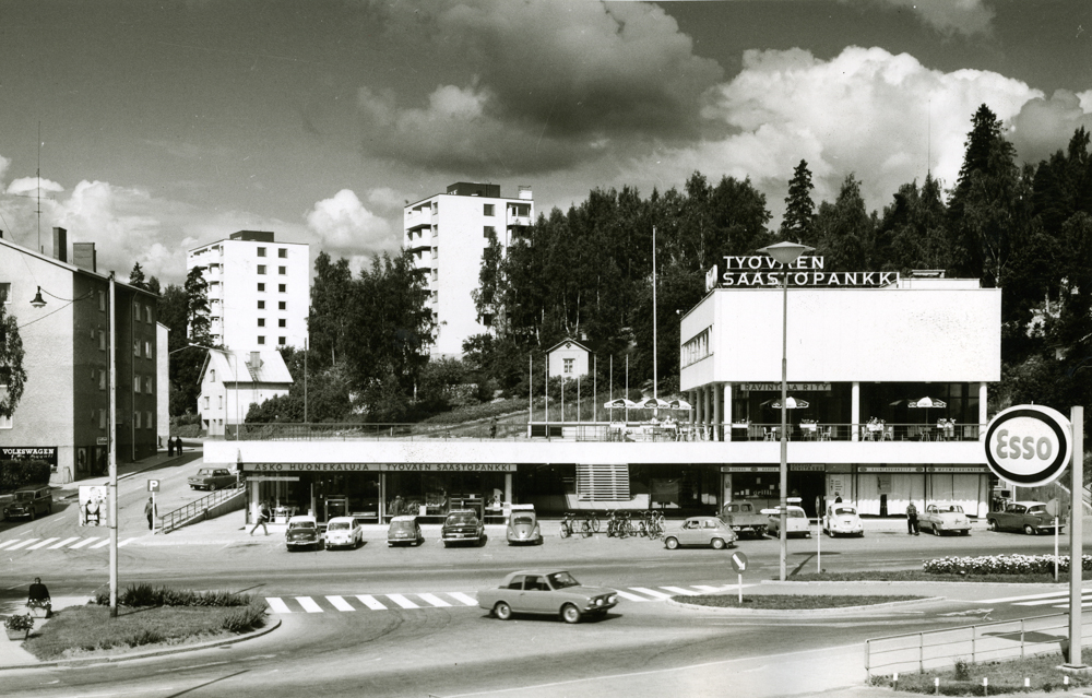 Rity-talo 1960-luvun asussa. RKM-kokoelmat.