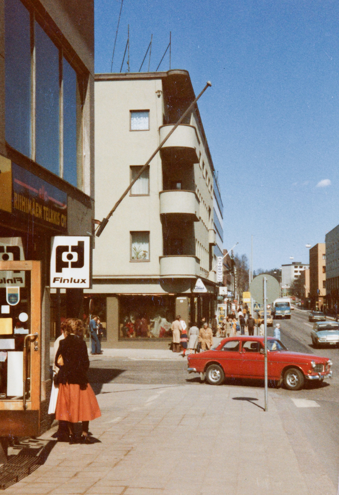Puputinkulma vuonna 1978. Kuva Olavi Penttilä. RKM-kokoelma.